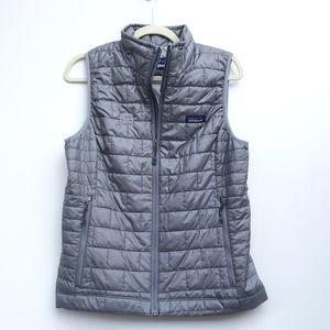 Patagonia Nano Puff Vest Jacket Grey Medium